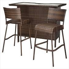 target patio bar set. Wonderful Patio Patio Chair Clearance  Comfy Rolston 3 Piece Wicker Patio Bar Set  Threshold Target In Target Bar Set E