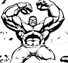 Hulk Coloring Pages To Print Avengers Page Pictures