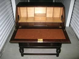 antique drop front secretary desk with bookcase large size of slant front desk desk styles traditional