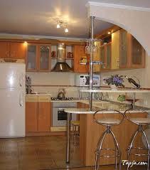 Fesselndes Kleine Küche Mit Bar Design Und Beleuchtung Ideen