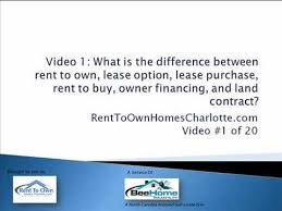 Rent To Own Home Contract. Xownerfinancing Private Mortgage Contract ...