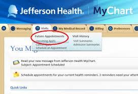 Scheduled Video Visits Jefferson University Hospitals