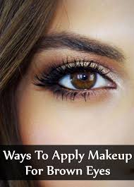 the right makeup for your eyes can accentuate the beauty of this feature if you are looking for the perfect makeup for brown