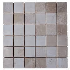 botticino beige polished marble mosaic tiles 2 2