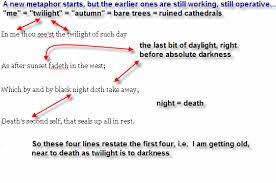 sonnet essay