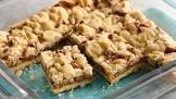 5 ingredient salted caramel crumble bars