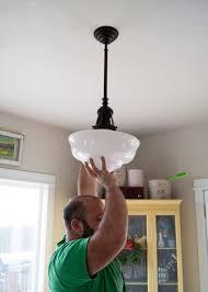 vintage schoolhouse pendant light led lighting light companies new light fixtures chandelier light