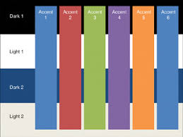 accent colors for purple. Plain Accent This Graphic Demonstrates The Office Theme Colors All Six Accent Colors  Overlap Four Background Intended Accent Colors For Purple I