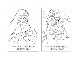 Lds Family Coloring Pages Family Lds Family Coloring Pictures