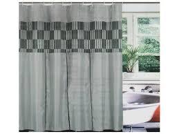 modern grey shower curtain. Grey Modern Shower Curtain