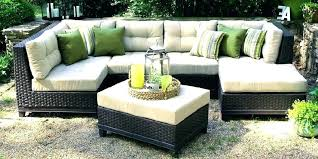 outdoor furniture white. White Wicker Sectional Outdoor Furniture Patio Download X Rattan Sofa