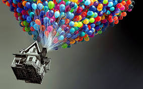 Up House Balloons Up Wallpapers Pixar Wallpaper Cave