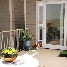 sliding glass pet door power pet electronic for patio doors