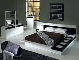 modern platform bedroom sets. Modern Platform Bed Collection  Furniture Bedroom Sets With D