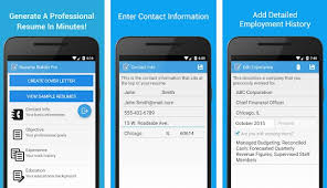 App Resume Resume Builder Pro App For Samsung Galaxy S7 Edge S8 S9