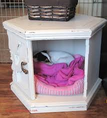 diy dog bed made from an old recycled coffee or side table arts 3be3d36b0beeeb