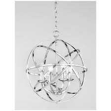 zany fl2280 4 4 light ceiling pendant finished in polished chrome