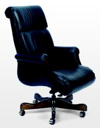 office leather chair. Belmont Traditional Leather Swivel With Wood Accents In Classico Leather,  Bright Navy Office Leather Chair I