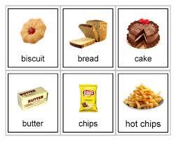 Food Flash Cards Printable Food Flashcards Sensory Star Store