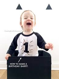 how to make a diy birthday t shirt for kids looks easy