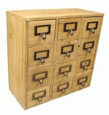 geko 35 x 15 x 34 cm mini trinket desk organiser trinket storage drawers wooden 12 drawer mini chest with metal handles co uk kitchen home