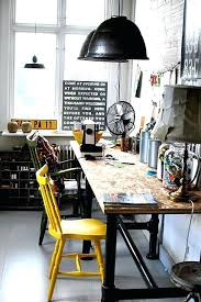 industrial style home office. Industrial Home Office Style  Desk .