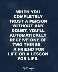 Important Quotes Interesting 48 Trust Quotes That Prove It's Important In Relationships YourTango