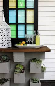 cinderblock furniture. Cinder Block Bar: You\u0027ve Seen DIY Home Bars And Planters, But Never Anything Like This. Pour Yourself A Drink At This Dreamy Bar Cinderblock Furniture D