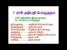 How To Match Horoscope For Marriage In Tamil