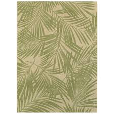 creative tropical outdoor rugs garden treasures pultney essenza green sand rectangular