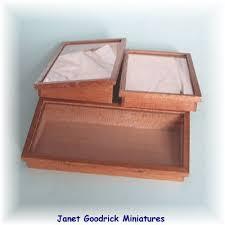 dolls house display box