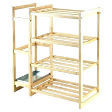 wooden shoe rack white medium size of best bedroom bed without ikea leksvik childrens wardrobe