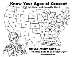 States Age Of Consent Chart Pennsylvania Laws On Age And Dating Laws On Underage