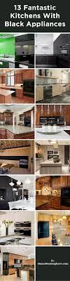 13 Fantastic Kitchens with Black Appliances (PICTURES)