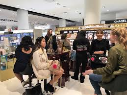 nordstrom prom makeup counter visit