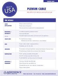 2012 Catalog Aerospace Vvire Cable Inc Aerospacewire Com