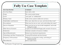 Software Test Case Template Simple Software Test Case Template Use Simple Use Case Template