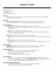 Medical Surgical Nurse Resume Elegant Nurse Resume Objective Resumes