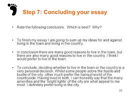 live in town or country essay