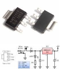 <b>3pcs AMS1117</b>-<b>5.0</b>V 5V Fixed voltage regulator SMD SOT-223 ...