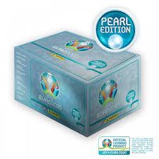 ¡corre por tu álbum y sobres de estampas, y no te pierdas lo mejor de este histórico torneo! Panini Uefa Euro 2020 Pearl Edition Official Sticker Collection 100 Box
