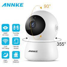 ANNKE Ev Güvenlik IP Kamera Wi-Fi 1080 P Kablosuz Ağ Kamerası Güvenlik  Kamerası Gözetim P2P Gece Görüş Bebek Izleme Monitörü Kam Video Gözetim -  Goodsfaster.news