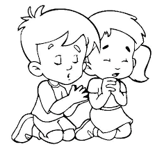 Boy Praying Coloring Page Dr Schulz