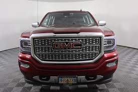 Pre-Owned 2017 GMC Sierra 1500 Denali Pickup Truck in Anchorage ...
