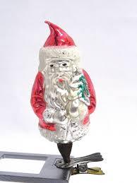 Glas Christbaumschmuck Um 1900 Weihnachtsmann Guter