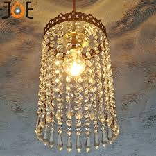 waterfall crystal chandelier antique mini