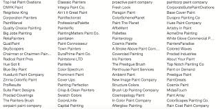 paint name painting company names how i found the perfect name for my