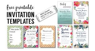Party Invites Templates Free Party Invitation Templates Free Printables Paper Trail Design