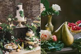 irish destination wedding inspiration · ruffled Wedding Inspiration Ireland dessert table ideas photo by paula ohara s ruffledblog com Ireland Cliff Wedding