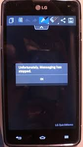 'Unfortunately messaging has stopped' - Android Forums at ...